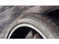 Pair of Pirelli Cinturato P7 225/45 R17 91W Run Flats
