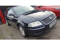 Vw passat highline pd 1.9 tdi good conditon 2 owners from new bargain ONLY£1395