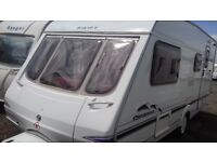 4 BERTH SWIFT CHARISMA 565 2004 WITH 'L' SHAPED LOUNGE. CRIS RGISTERED. ALL ACCESSORIES FOR HOLS.