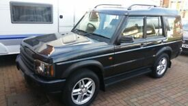 2004 LAND ROVER DISCOVERY TD5 AUTO BLUE 7 SEATER FACELIFT 12 MONTHS MOT