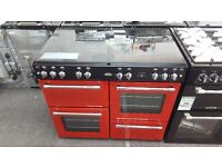 New graded belling range cooker 100cm for sale in Coventry 12 month warranty