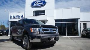 2013 Ford F-150 SUPERCAB XLT 4X4 V8 *6 1/2 FT BOX*