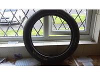 metzeler motorcycle tyre new 120/60/zr17