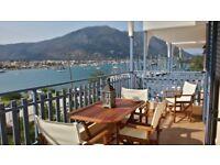 2x Flats GREECE ISLAND LET/RENT/HIRE Lefkada/Nydri July-September