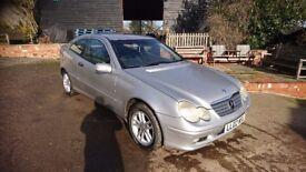 Mercedes c220 cdi 12months mot