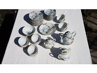 Japanese Tea Set | Porcelain | Hand painted | Excellent Condition