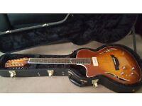 Crafter 12 string left handed guitar