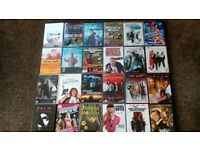 24 Assorted DVDS