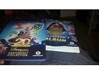 Disney collectors card albums