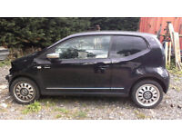 breaking vw up 2012 plate black all parts available