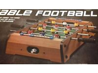 TABLE FOOTBALL GAME IN BOX UNWANTED GIFT