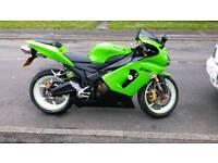 Kawasaki motorbike ZX