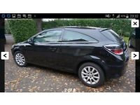 Vauxhall astra 3 door automatic 2011 black 1.8