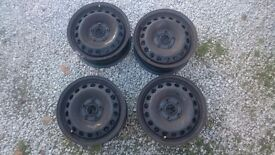 Geniune Vw Steel wheel with tyre