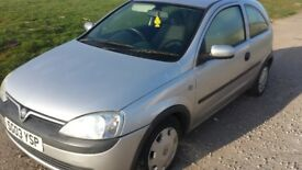 Corsa 1.2 good runner 10 months mot