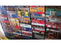 150 + vhs video tapes & video