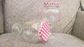 2 sweet jars
