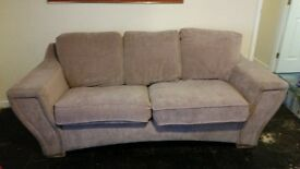 Call me 3 seater 2 seater sofa couch sofas couches .. hardley used