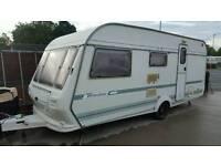 Coachman wanderer 4/5 berth family caravan 1998