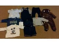 6 - 9 month boys clothes bundle