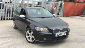 VOLVO V50 SPORT BLACK ALLOYS MINT
