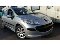 2006 PEUGEOT 207 1.4 S SILVER LOW MILEAGE NEW CAMBELT LOW INSURANCE EXCELLENT