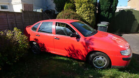 Seat Cordoba. Cool/S 1.6 Sport model. New Mot & battery