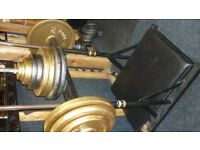 LEG PRESS WITH WEIGHT