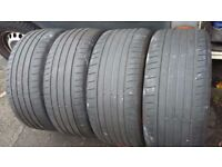 """FREE! 20"""" RUNFLAT TYRES (NOT ROAD LEGAL) FOR BACK GARDEN OR KIDS PLAY AREA"""