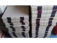 24 vintage encyclopedia books. over 40 years old reading book . COLLECTION ONLY