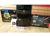 Desktop pc | AMD Athlon 5350 APU | AMD Radeon HD 6450 | 4gb Kingston HyperX Fury RAM