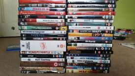 77 DVDs and 6 Bluray - bundle