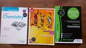 National 5 Chemistry books and past papers