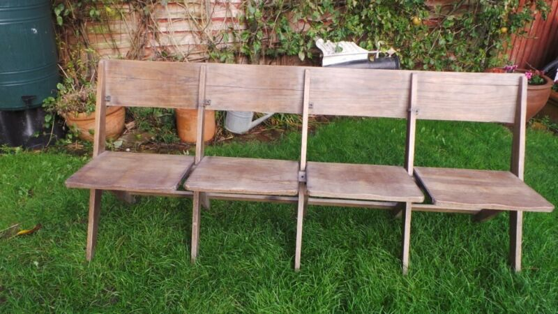 Beautiful Oak theatre/ cinema seats, used for sale  Tonbridge, Kent