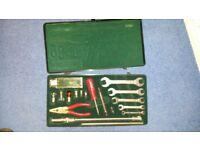 Jaguar Tool Box complete with all Jaguar branded hand tools.