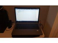 "HP G72 laptop 17.3"" screen 500GB HDD 4GB RAM 2.2Ghz Windows 7 Intel Pantium in very good condition"