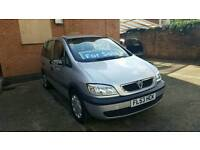 2003 Vauxhall Zafira 1.8 Automatic Low Mileage