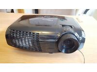 Optoma HD Projector With Accessories (mount, remote and HDMI cable)