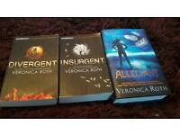 Divergent set by Veronica Roth