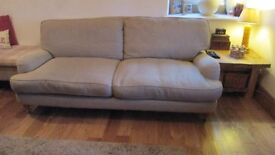 Laura Ashely 3 seater sofa in a very good clean condition. The colour is Taupe/wheat