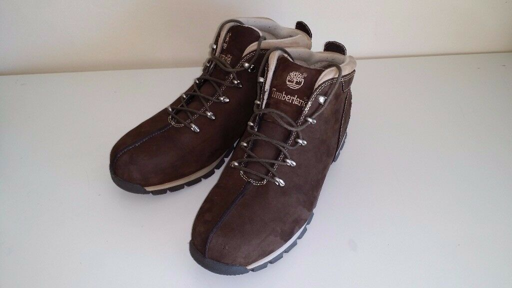 Men's PERFECT CONDITION (Used) Timberland Splitrock Hiker Mid Boot SIZE UK12.5