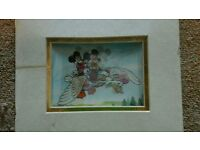 MICKEY MOUSE MOVE ABLE PICTURE (in cellophane )