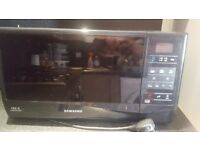 Samsung ME732K Standard Microwave - Black