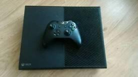 Xbox One 500gb Matte + 3 Games