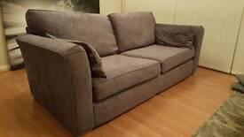 Large fabric 3 Seater Sofa (Screiber Wyatt)