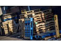 PALLETS FOR SALE. DIFFERING SHAPES AND SIZES. SMALL TO LARGE. CONSTANT SUPPLY AVAILABLE
