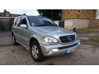 Mercedes ml270cdi low milage 96k full service history 5 seater mercedes benz ml 270 cdi