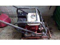 Wacker plate/ground pounder MBW model 2000