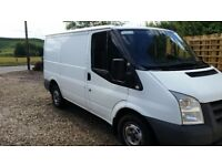 FORD TRANSIT 2.2 TDCi Duratorq 280 S Low Roof Panel Van 5dr (SWB), fitted with Towbar, Ply lined