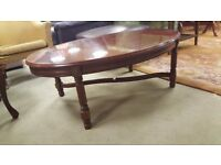 Mahogany Vintage Coffee Table